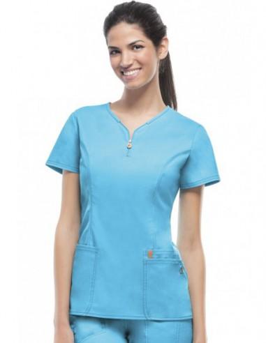 Bluza medyczna damska antybakteryjna...