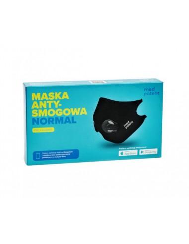 Maska antysmogowa NORMAL Med Patent