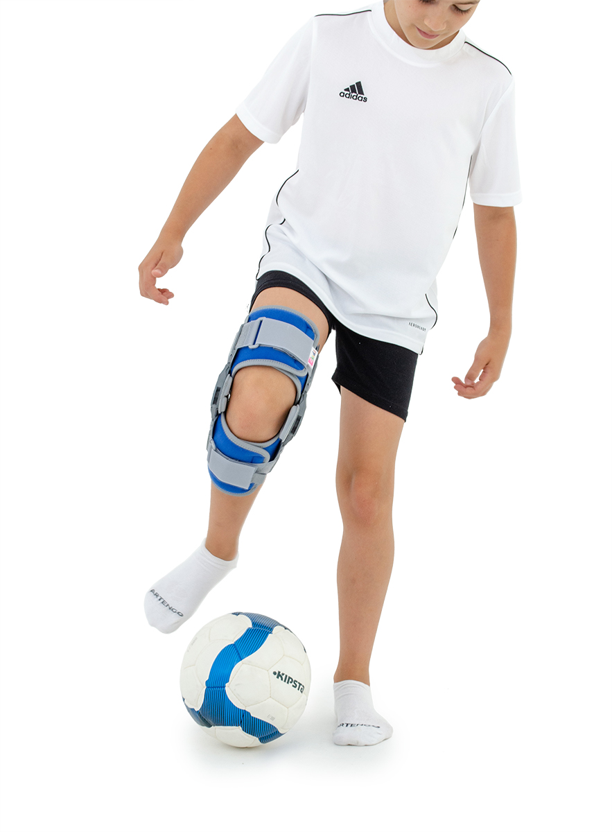AM‑KD‑DAM_1R orteza kolana niebieska