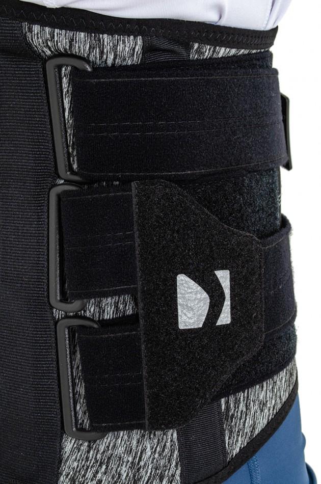 AM-SO-10 czarny melanż materiał