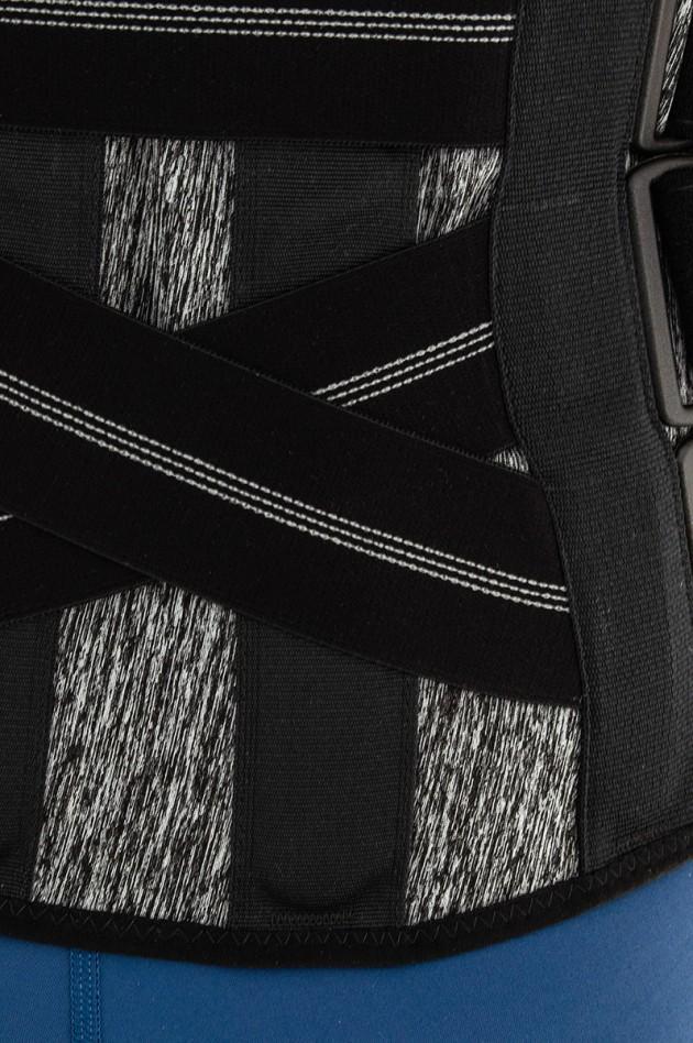 AM-SO-10 czarny melanż zbliżenie
